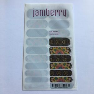 Jamberry Nail Wraps Sempasuchitl Multicolor New